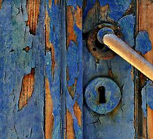 The Old Blue Door by Peter Hammer