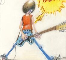 Johnny Ramone 1948-2004 by Halsskovgade