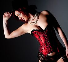 Red Corset by Andrew Rossington