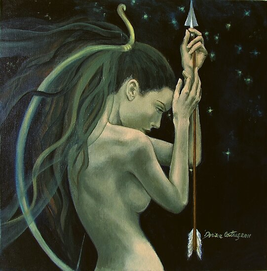 Sagittariusfrom Zodiac signs series by dorina costras