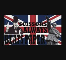 churchill vs hitler - scissors always beats paper by grant5252