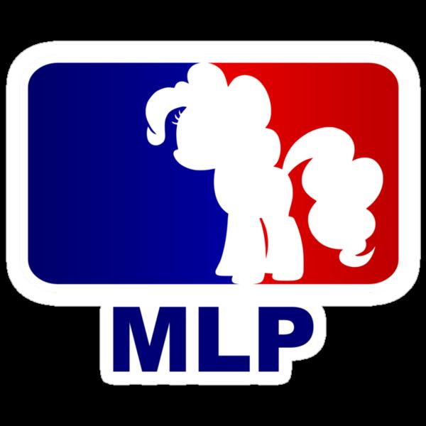 Major League Pony (MLP) - Pinkie Pie by phyrjc2