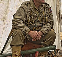 Re-enactor Heckington Show 2011 #1 by cameraimagery2