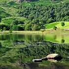 Watendlath reflections by Rachel Slater