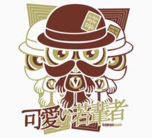 Victorian Mascot Stencil Kids Clothes