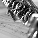 Clarinet Closeup by Lauren Neely