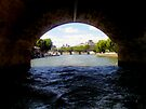 Under the Bridge - River Seine, Paris by CalumCJL