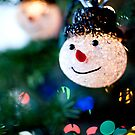 Snowman Christmas Light by Lauren Neely