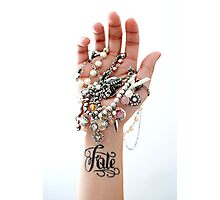 Fate Tattoo & Jewelry Photographic Print