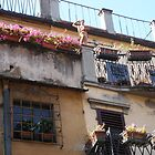 House on the Ponte Vecchio by Fara