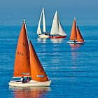 Sailing Regatta at Dun Laughaire by Yukondick