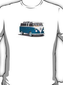 VW Bus T2 Turkis  T-Shirt
