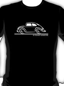 VW Beetle Speedy White T-Shirt