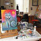 My studio  by Karin Zeller