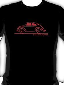 VW Beetle Speedy Red T-Shirt