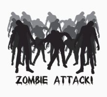 Zombie Attack! Tees by avdesigns