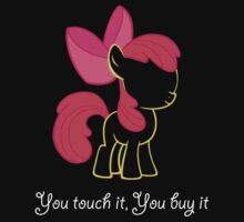 You touch it, you buy it! by MouseAfterDeath