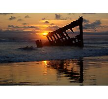 Wreck of The Peter Iredale - 1906 Photographic Print