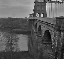 Menai Suspension Bridge by millymuso