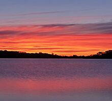 Natures Canvas #2 Lipstick (20 Exposure HDR) - Narrabeen Lakes, Sydney - The HDR Experience by Philip Johnson