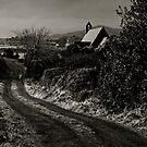 Wesk Cork Church on a Winter's Evening, County Cork, Ireland by Andrew Jones