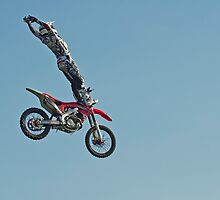 Stunt Rider #4 by cameraimagery