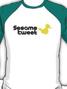 Sesame Tweet - Black Text V.2 T-Shirt