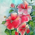 Hibiscus by Patricia Sabin
