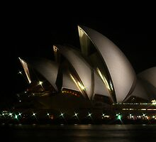 Sydney Opera House at Night by PollyBrown