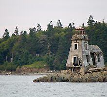 Grand Harbour Lighthouse - Ross Island, New Brunswick by Stephen Stephen