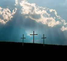Three Crosses by Mary Ann Reilly