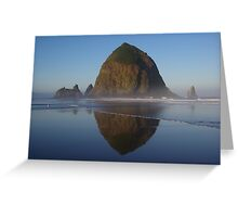 Sunrise on The Haystack Greeting Card