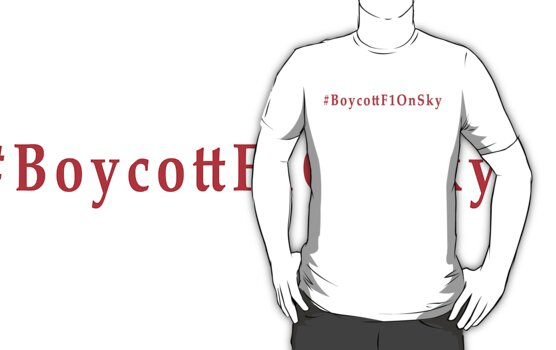 #BoycottF1OnSky - Twitter Hashtag to join the Rebellion by MadTogger