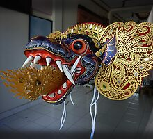 Kite Dragon-Head by Master Craftsman by Keith Richardson
