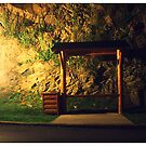 Eerie Bus Stop by MaryCatherine27
