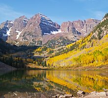 The Maroon Bells by Alex Cassels