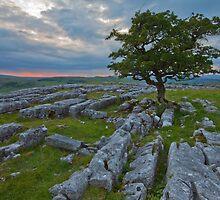 Sunset, Winskill Stones. by Nick Atkin