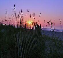 Sunrise at Wrightsville Beach, NC by EddaM