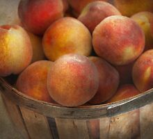 Food - Peaches - Just Peachy by Mike  Savad