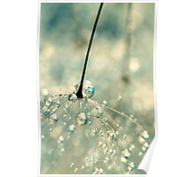 Fairy Blue Poster