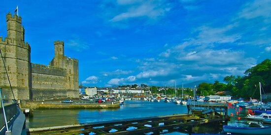 Caernarfon Harbour by Yukondick