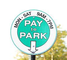 Park Free On Sundays by Dean Mucha