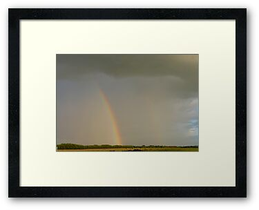 Double Rainbow Over The Prairies by MaeBelle