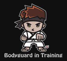 Martial Arts/Karate Boy - Bodyguard (gray font) Kids Clothes