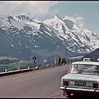 "My  first breath of fresh air and "" Free Europe "". Grossglockner High Alpine Road . Austria . 1970. by Brown Sugar. Views (292) favorited by (1)  thank you friends ! by AndGoszcz"