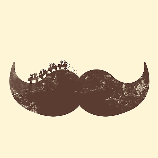 mustache ride  by Jonah Block