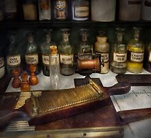 Pharmacy - The dispensary  by Mike  Savad