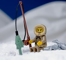 Lego Eskimo by Kevin  Poulton - aka 'Sad Old Biker'