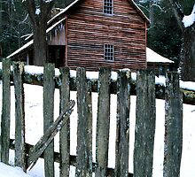 TIPTON PLACE,WINTER by Chuck Wickham