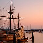 Mayflower at Sunrise by John  Kapusta
